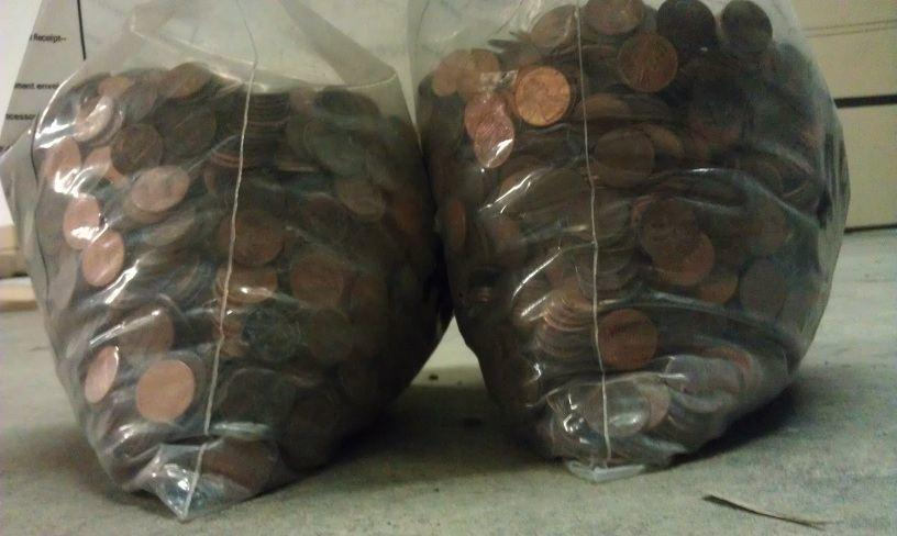 pennies