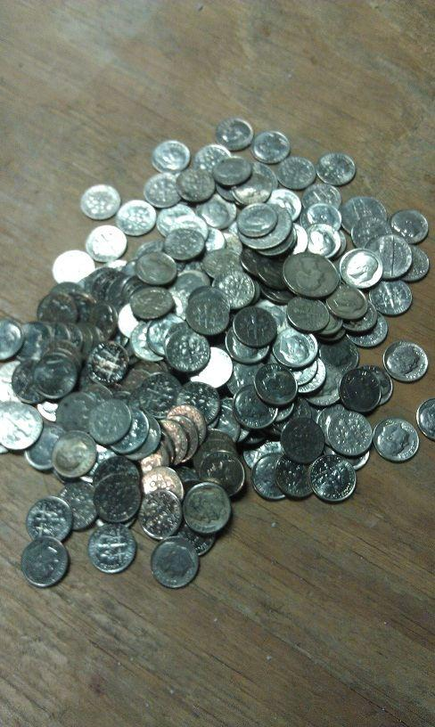dimes penny bags