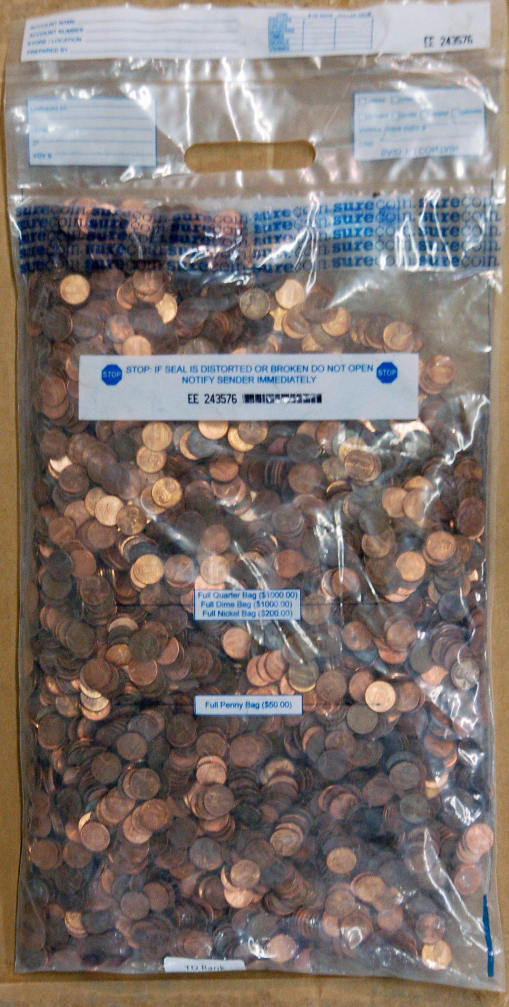 mixed penny bag