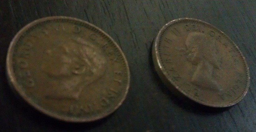 Canadian Copper Pennies