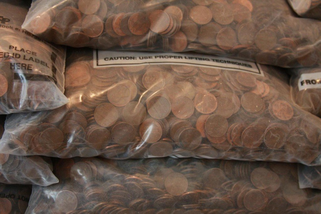 Copper Pennies Tons Investment