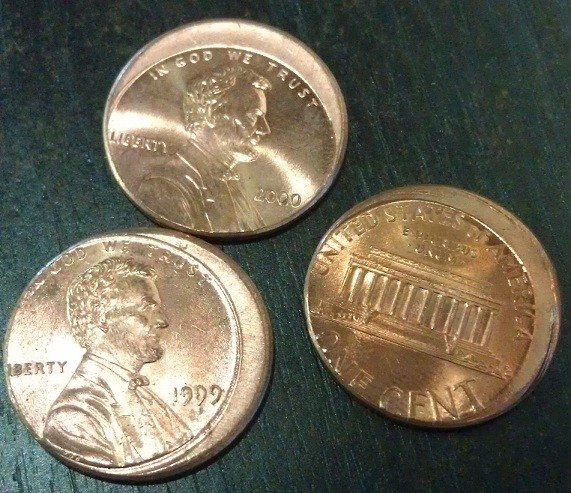 mis-struck pennies