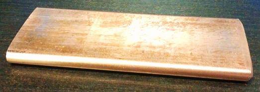Copper Bar No Stamp