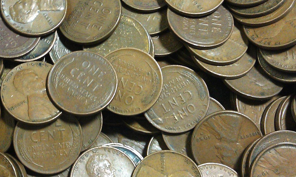 wheat cent collection