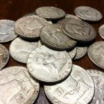 ben franklin silver half dollar coins